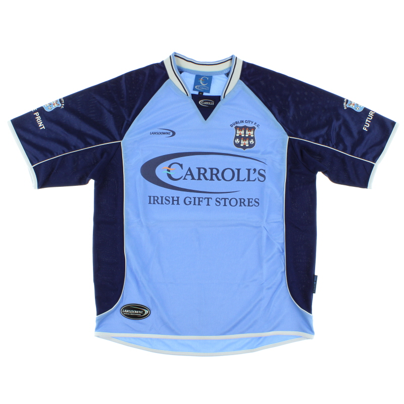 2003-04 Dublin City Home Shirt M