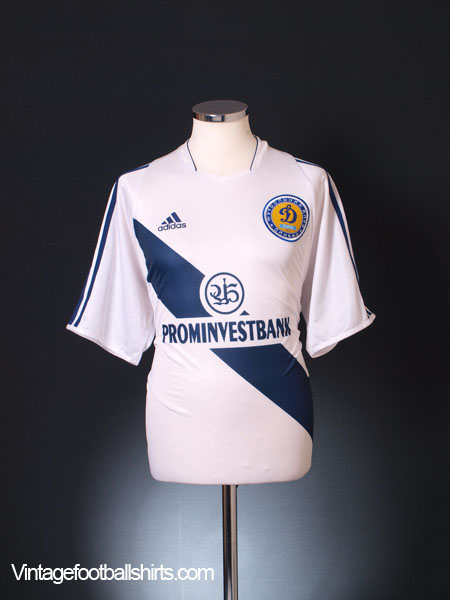 2003-04 Dynamo Kiev Home Shirt M