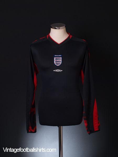 2003-04 England Goalkeeper Shirt M