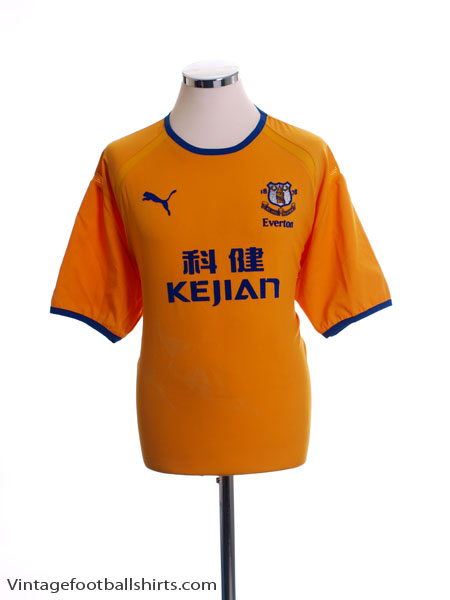 2003-04 Everton Away Shirt XL