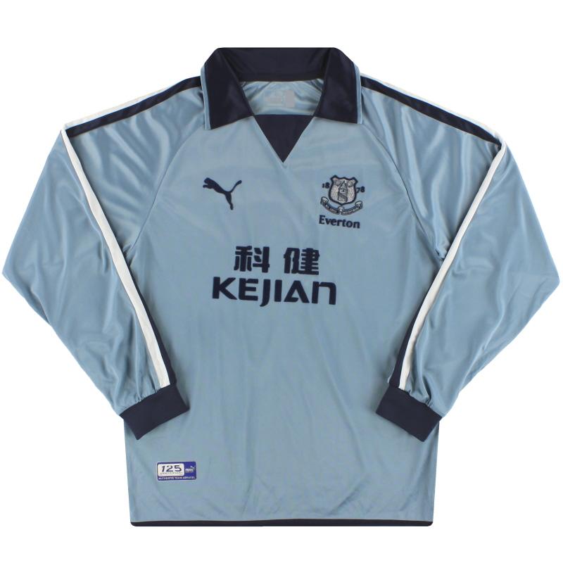 2003-04 Everton Puma Third Shirt L/S M