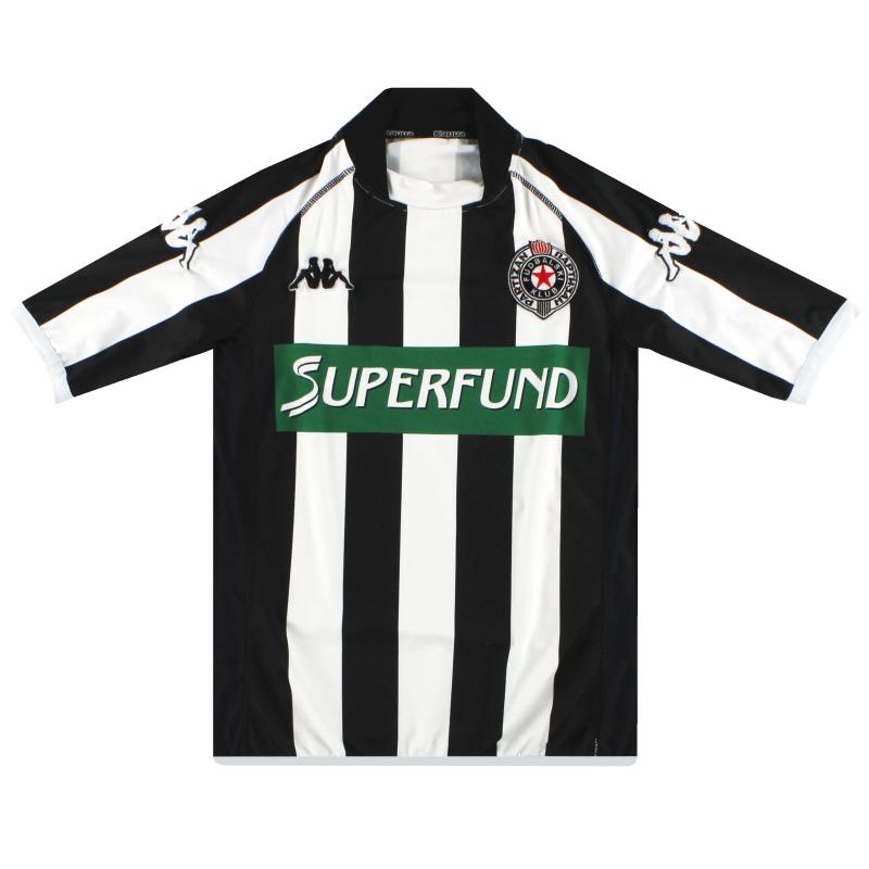 2003-04 FK Partizan Kappa Home Shirt S