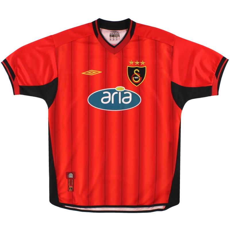 2003-04 Galatasaray Umbro Third Shirt S