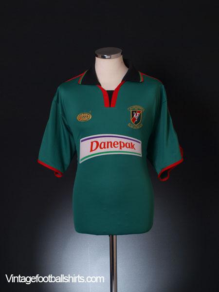 2003-04 Glentoran FC Home Shirt XL