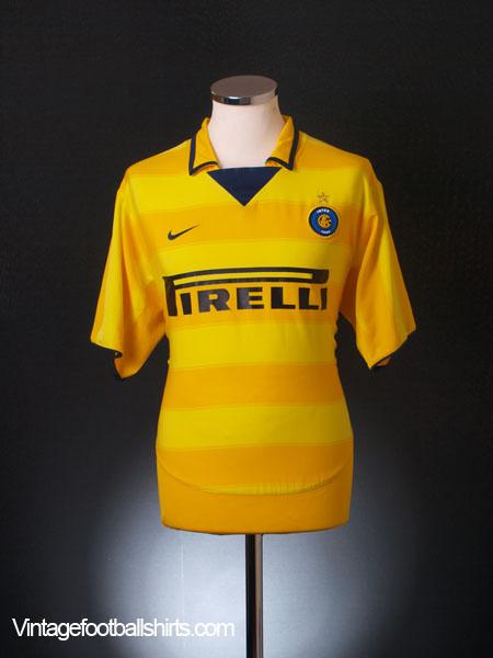 2003-04 Inter Milan Away Shirt *Mint* XL