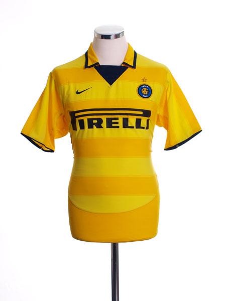 2003-04 Inter Milan Away Shirt S