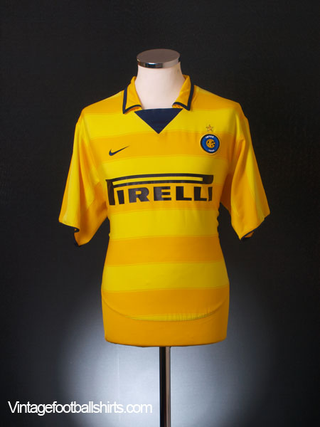 2003-04 Inter Milan Away Shirt L