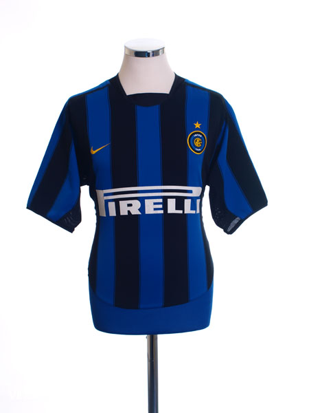 2003-04 Inter Milan Home Shirt XXL