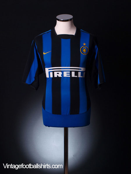 2003-04 Inter Milan Home Shirt XL