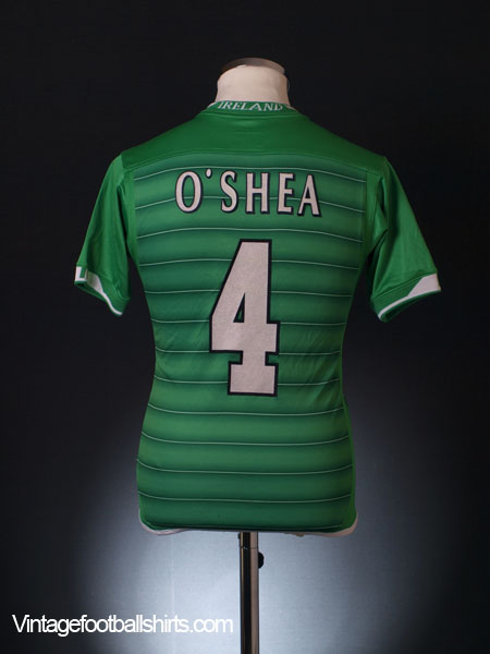 2003-04 Ireland Home Shirt O'Shea #4 L.Boys