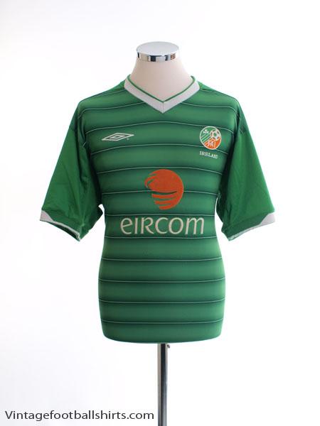 2003-04 Ireland Home Shirt L