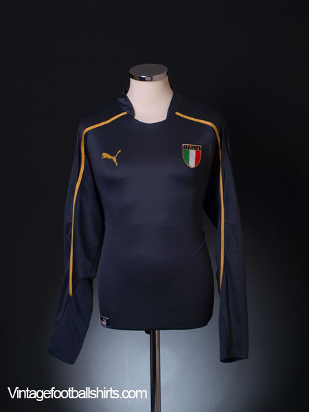 2003-04 Italy Goalkeeper Shirt XL
