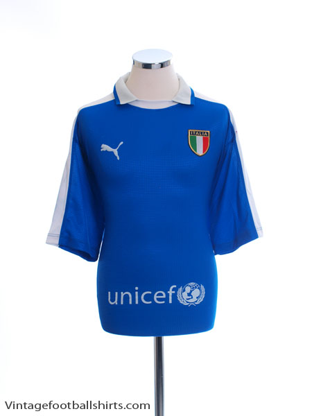 2003-04 Italy Training Shirt L