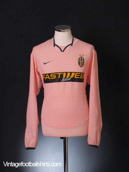 2003-04 Juventus Away Shirt *Mint* L/S L