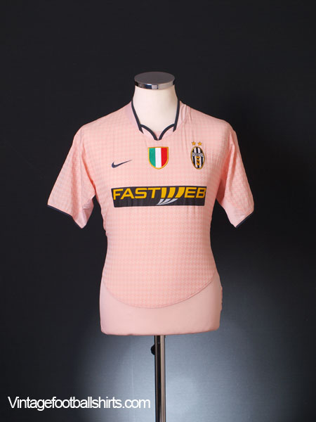 2003-04 Juventus Away Shirt XL.Boys