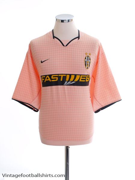 2003-04 Juventus Away Shirt L - 114323