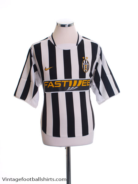 2003-04 Juventus Home Shirt L