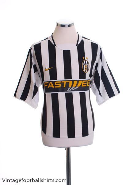 2003-04 Juventus Home Shirt M - 114321