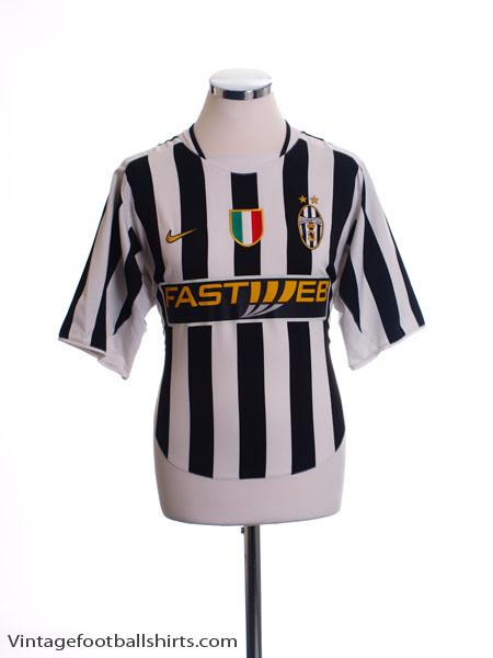 2003-04 Juventus Home Shirt M