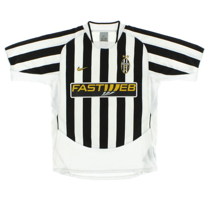 2003-04 Juventus Home Shirt XL - 112634
