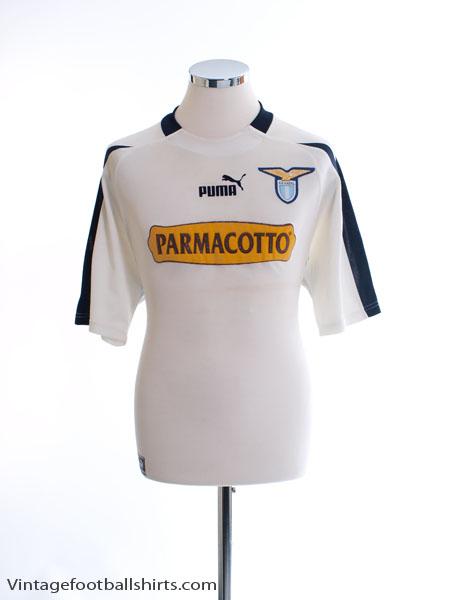 2003-04 Lazio Away Shirt L