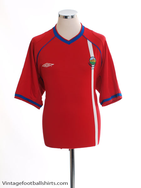 2003-04 Linfield Away Shirt XL