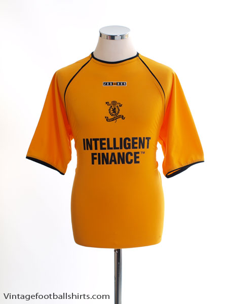 2003-04 Livingston Home Shirt S