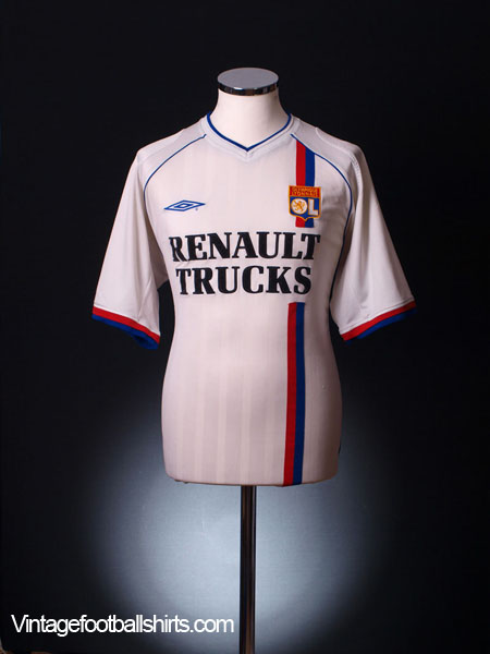 2003-04 Lyon Home Shirt L
