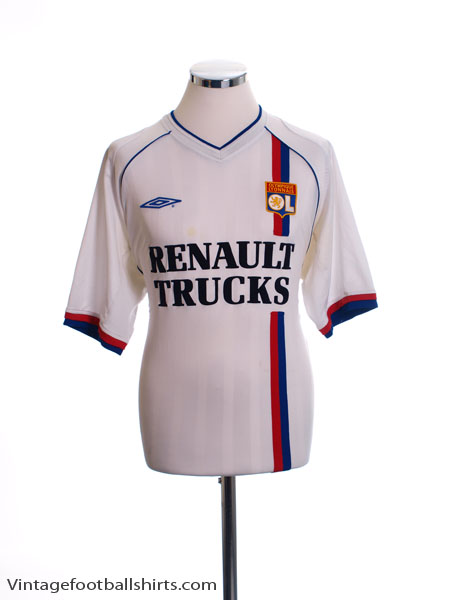 2003-04 Lyon Home Shirt L