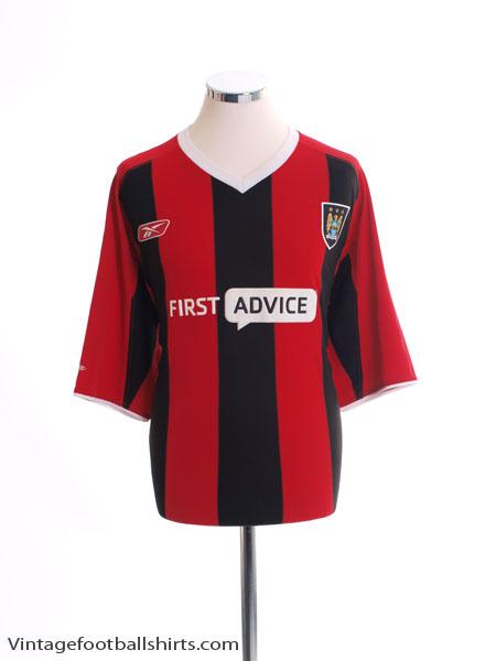 2003-04 Manchester City Away Shirt *Mint* M - 249/233939/03