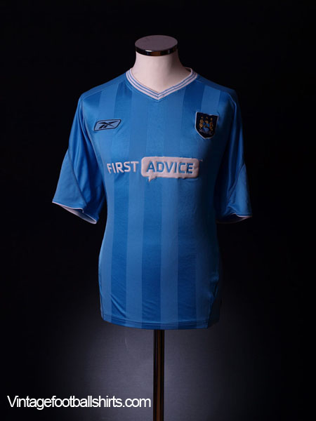 2003-04 Manchester City Home Shirt XXL