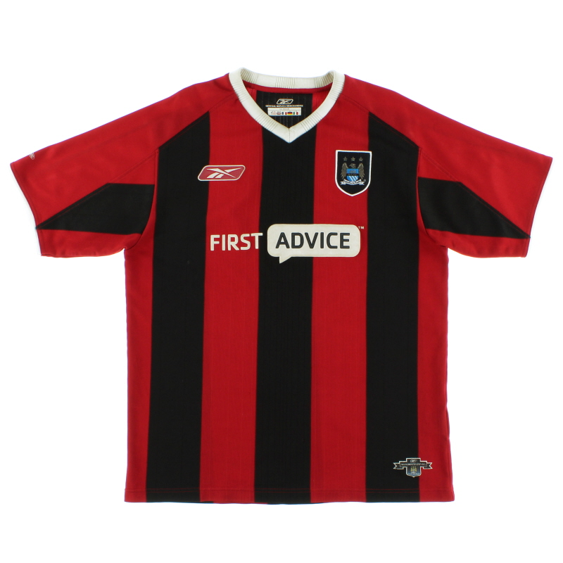 2003-04 Manchester City Reebok Away Shirt XXL - 233939