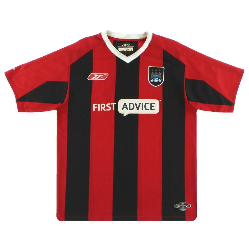 2003-04 Manchester City Reebok Away Shirt XL - 233939