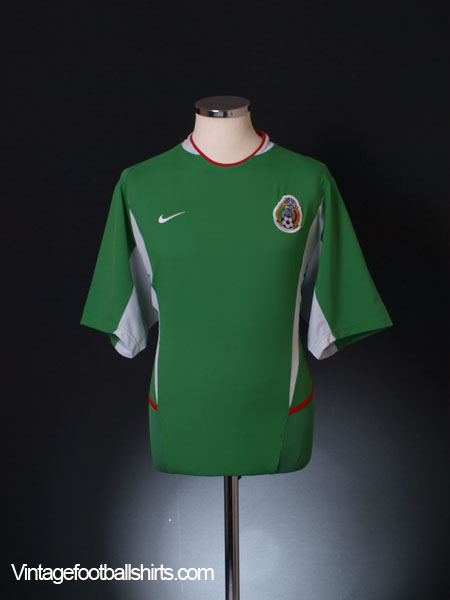 2003-04 Mexico Home Shirt L