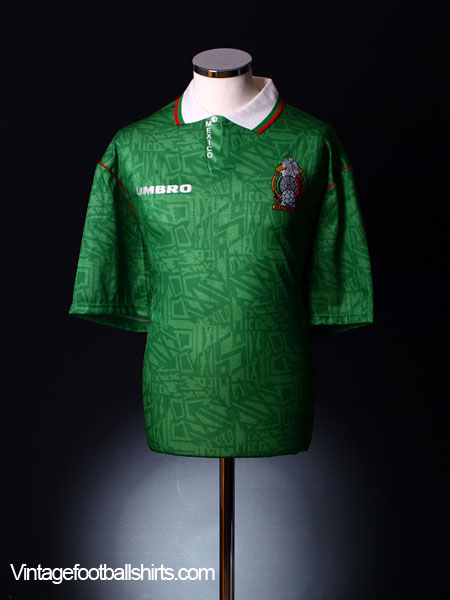 1994 Mexico Home Shirt L