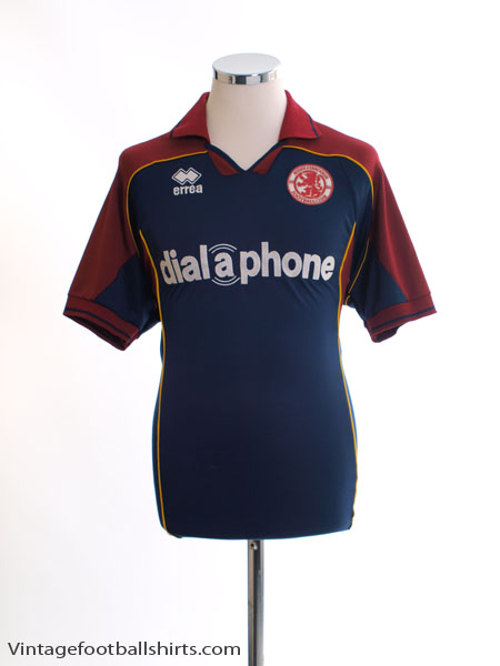 2003-04 Middlesbrough Away Shirt L