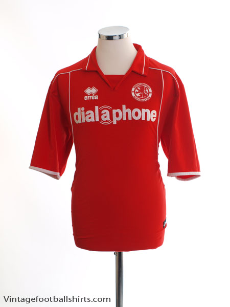 2003-04 Middlesbrough Home Shirt L