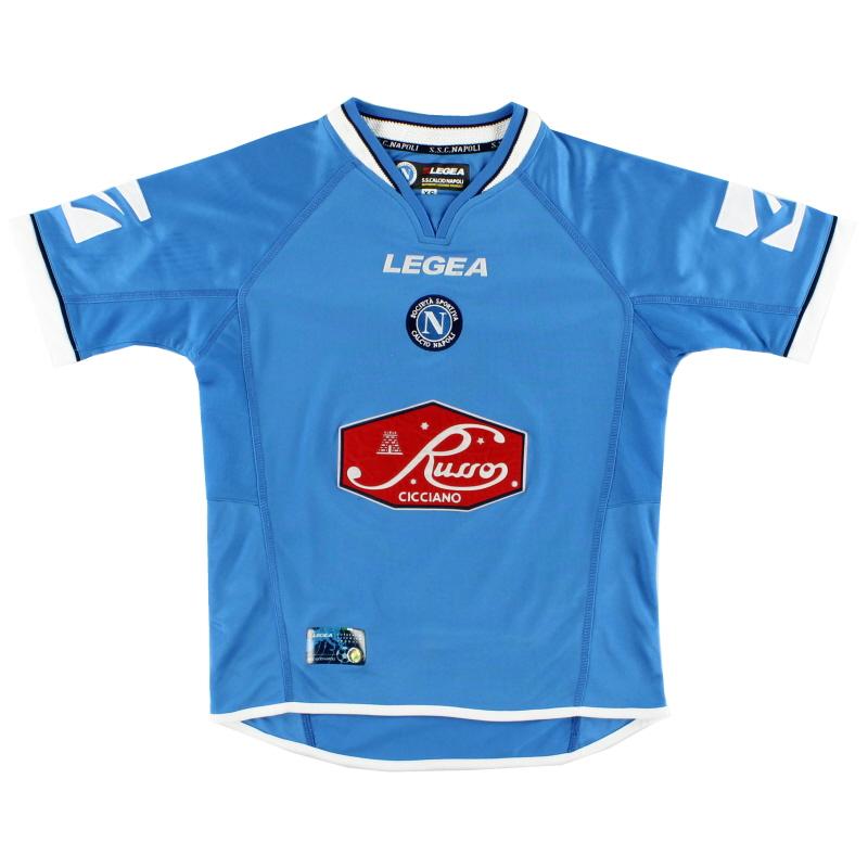 2003-04 Napoli Home Shirt XL