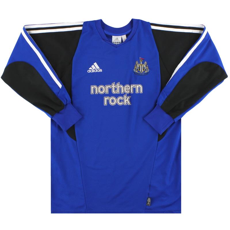 2003-04 Newcastle adidas Goalkeeper Shirt XL.Boys - 021783
