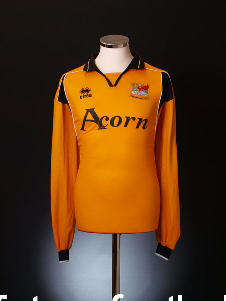 2003-04 Newport County AFC Home Shirt L/S XXXL