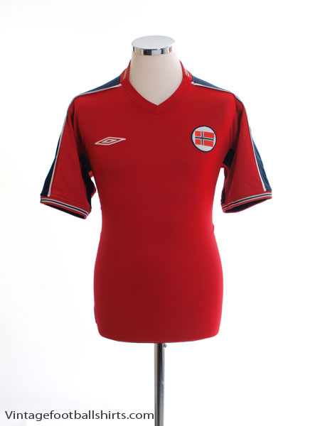 2003-04 Norway Home Shirt M