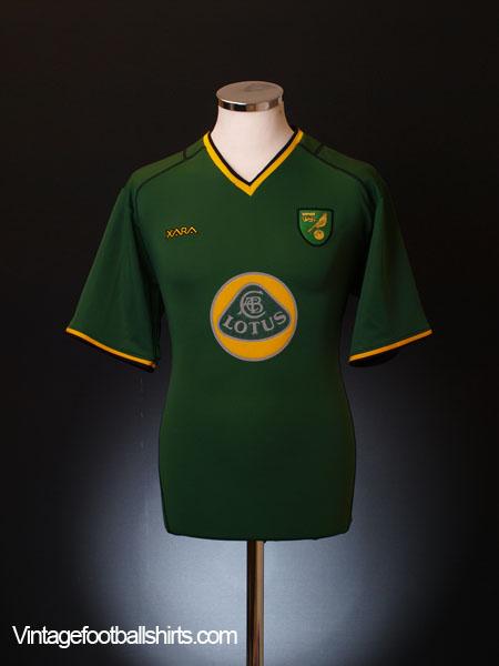 2003-04 Norwich City Away Shirt M