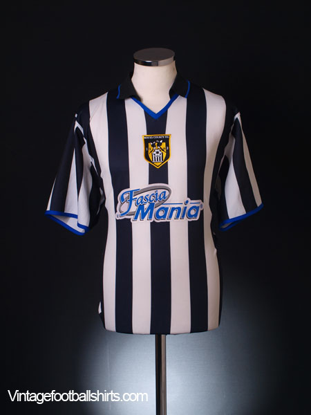 2003-04 Notts County Home Shirt M