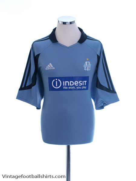 2003-04 Olympique Marseille Third Shirt XL - 399307