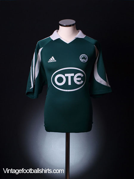 2003-04 Panathinaikos Home Shirt L