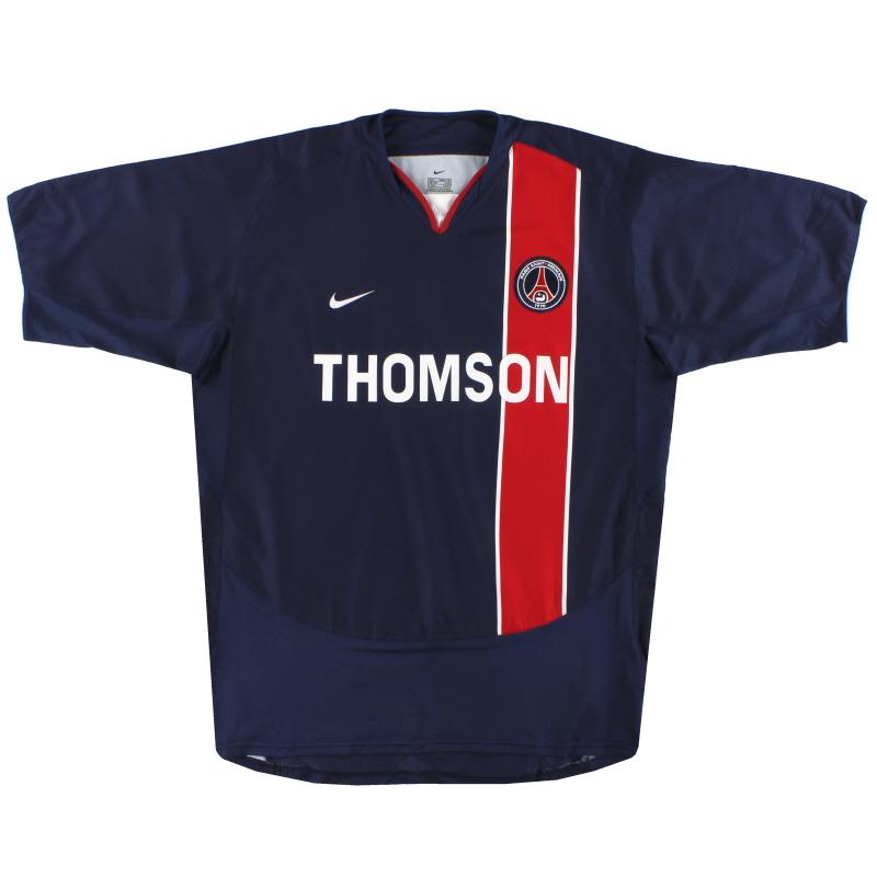 2003-04 Paris Saint-Germain Nike Home Shirt L - 112738