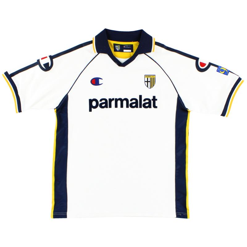 2003-04 Parma '90 Years' Away Shirt XL