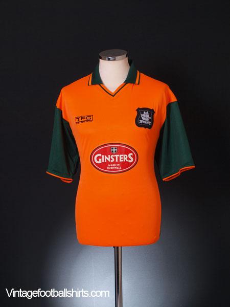 2003-04 Plymouth Away Shirt *Mint* M