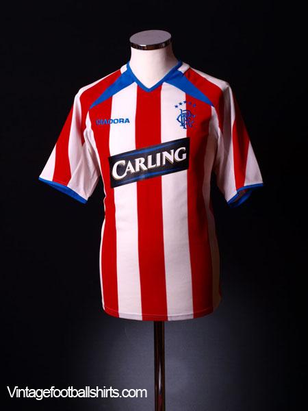 2003-04 Rangers Away Shirt L