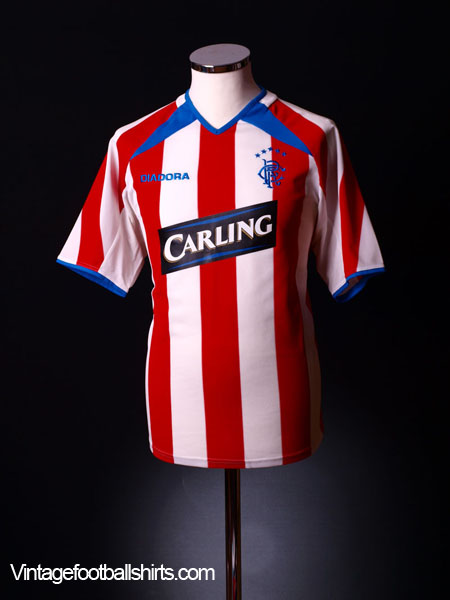 2003-04 Rangers Away Shirt M